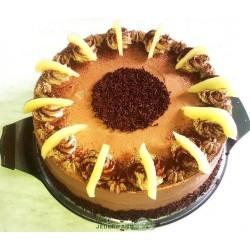 Cappuccino-Birnen-Torte