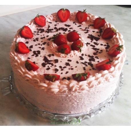 Erdbeer Quark Torte Ab 29 50 Cafe Jedermann