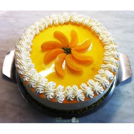 Pfirsich-Quark-Torte