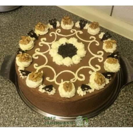 Schoko-Wallnuss-Torte