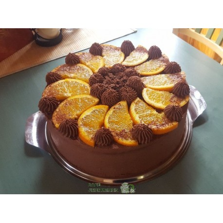 Schoko Orangen Torte Ab 29 50 Cafe Jedermann